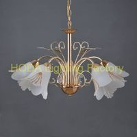 Modern Living Room Glass Pendant Lamp chandelier