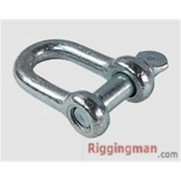 Rigging EUROPEAN TYPE LARGE DEE SHACKLE hardware