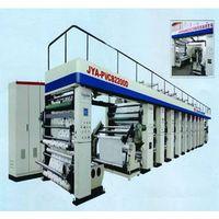 JYA-PVC82200D PE PVC non-woven fabric high-speed split rotogravure printing mach