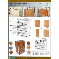 Living room chest of drawers, wooden chest