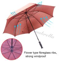 RST high quality wholesale chinese umbrella windproof golf long automatic umbrella