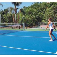 rubber floor for tennis court