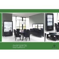 Avantgarde (Black) Dining Room Set