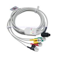 Corpuls patient monitor ecg cable 4 lead ecg with clip