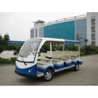 Electric Shuttle Bus LQY081A (Sightseeing Car , 11 seats) thumbnail image