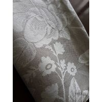 Pure linen Jacquard Fabric For Home Decor