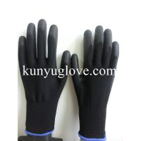 13 Guage SAFETY 13ga nylon liner pu coated gloves en388/ESD glove/working glove thumbnail image