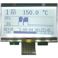 COG 128 x 64 dots STN positive dot matrix LCD graphics modules