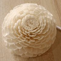 Artificial Chrysanthemum Sola Wood Paper Flower