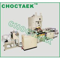 Aluminium foil container production line CTJF-60T