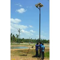 All in two Lithium battery solar power street lamps 20W thumbnail image