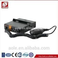 Police emergency siren alarm with speaker 8 tones DC 12V/24V thumbnail image