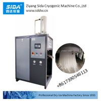sida factory new vertical design dry ice pelletizer machine for 3, 18mm pellets thumbnail image
