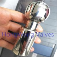 Stainless Steel Sanitary Food Grade Female Thread Rotary Cleaning Ball Spray Ball