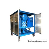 Newly vacuum transformer oil circulating machine,ZYD transformer oil recycling plant