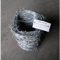 16 gauge galvanized barbed wire