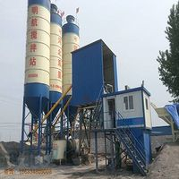 HZS50 concrete batching plant technical specifications