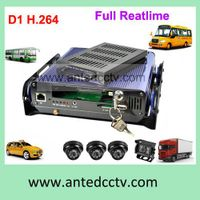 4 channel Car Blackbox Mobile DVR with 3G GPS tracking thumbnail image