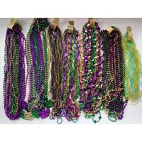 Mardi Gras Beads Mega necklace Assortment - 500 pcs
