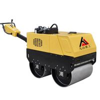 JS-YL-600C Walk-behind infinite variable double drum road roller