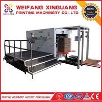 1300mm high quality semi-automatic corrugation die cutting machine