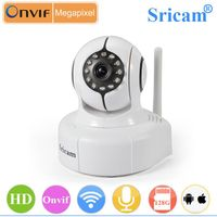 Sricam SP011 Newest Indoor Wireless Wifi IP Camera HD Dome IP Camera With Android IPhone APP
