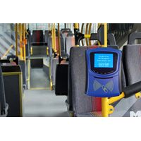 Onboard Contactless Bus Card Reader With 2D QR Bar Code Reader And NFC Reader