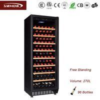 Free standing wine refrigerator YC-270B