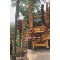 Sell road safety construction hydraulic guardrail drilling rig pile driver thumbnail image
