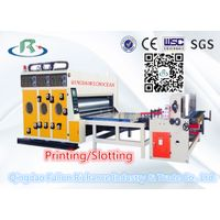 Multi-Color Water Ink Cardboard Printing Slotting Machine