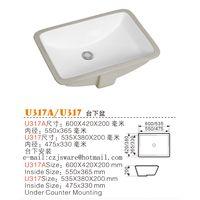 Supply China bathroom sinks,ceramic sinks,top basin,under counter basin manufactuer thumbnail image