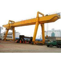 MG model electric winch double girder gantry crane