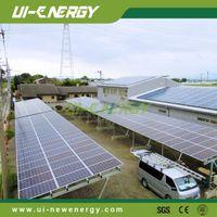Aluminum Solar Carport Mounting for commercial application