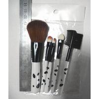 mini makeup brush set   5pcs brush set