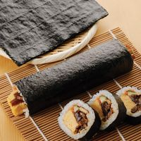 High Quality Japanese Sushi Nori Seaweed Roasted Seaweed Nori Dried Yaki Nori thumbnail image