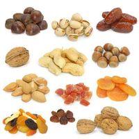 Walnuts in Shell,Chilgoza(Pine Nuts),Red Raisins,Green Raisins,Jeere(Cumin),Almonds,Pistachio Withou thumbnail image