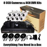 8 CCD&DVR CCTV Kit Recorder (SV60-DK08W242)