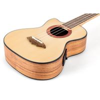 Electric Cutaway Tenor Ukuleles with Case Left-Handed or Right-Handed