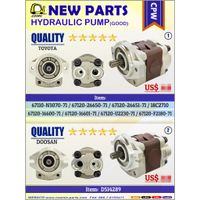 Cosmic Forklift Parts New Parts NO.372-Hydraulic pump [CPW]