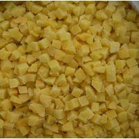 frozen diced yellow peach thumbnail image