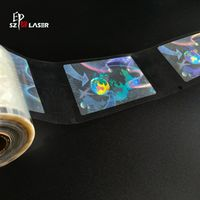 Clear Security Holographic Laminate Patch for cards protection