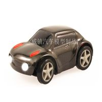 Plastic LED car model production