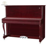 Shanghai Artmann UP-123A2 88 keys red wood gloss mechanical vertical upright piano