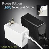 PowerFalcon 36W Wall Foldable Adapter