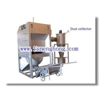 Aluminum hot dross recycling machine for extracting aluminum
