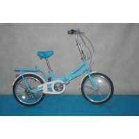 "20"" blue angel folding bike"