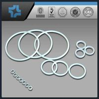 100% virgin plastic/Teflon/PTFE ring gasket
