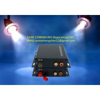 fiber optic stereo audio to RCA converter for 1~4CH stereo audio over 1 SM/MM fiber extender in prof thumbnail image