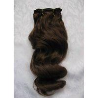 100%indian human hair extension
