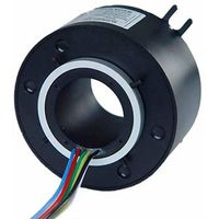 6 Circuits 10A, 38.1mm Through Bore Slip Rings